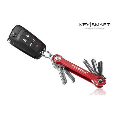 Organizer do kluczy keysmart model keystax, czerwony