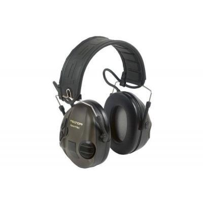 Słuchawki peltor sporttac aktywne, zielono-pomar ochronniki słuchu (mt16h210f-478)