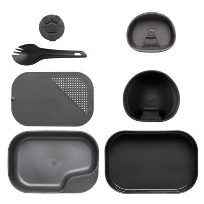 Zestaw wildo camp-a-box complete black/dark grey (se-cab-pp-0119a)