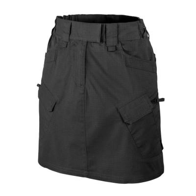 Spódnica utl (urban tactical skirt) - polycotton ripstop - czarny-black - 31 (st-utw-pr-01-g05)
