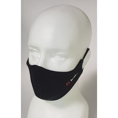 Maska ochronna polandex z logo broń.pl czarna
