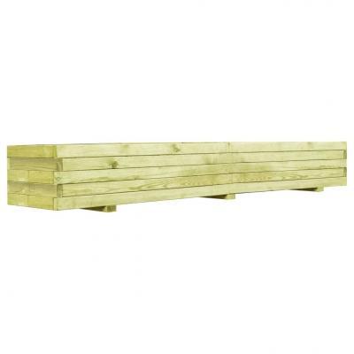 Emaga vidaxl skrzynia ogrodowa, impregnowane drewno sosnowe, 150 cm