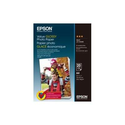 Papier EPSON Value Glossy Photo Paper A4 20 ark 200.g/m2