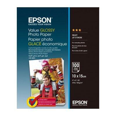 Papier EPSON Glossy Photo Paper 10 x 15cm 100 arkuszy