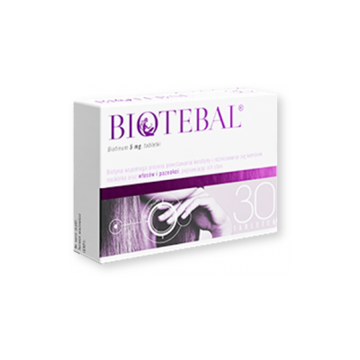Biotebal, 5 mg, tabletki, 30 szt.