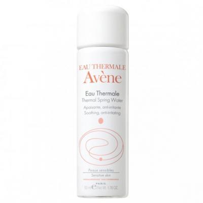 Avene Eau Thermale, woda termalna, aerozol, 50 ml, 2 + 1 GRATIS