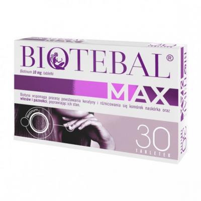 Biotebal Max, 10 mg, tabletki, 30 szt.