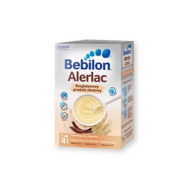 Bebilon Alerlac, bezglutenowy produkt zbożowy po 4. miesiącu, proszek, 400 g