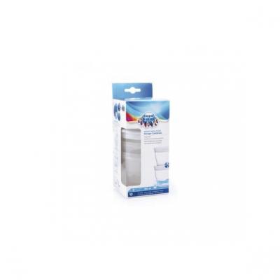 Canpol, pojemniki do przechowywania mleka i pokarmu, 180 ml, 4 szt.