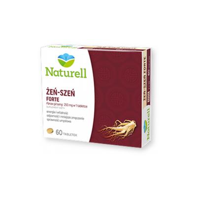 Naturell Żeń-Szeń Forte, tabletki, 60 szt.