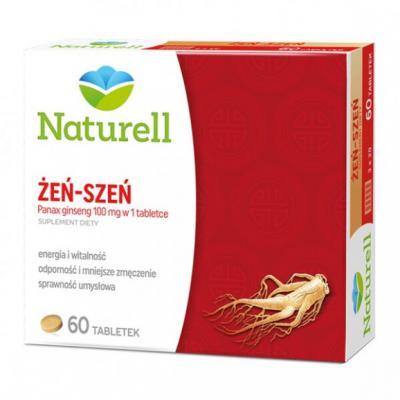 Naturell Żeń-szeń, tabletki, 60 szt.