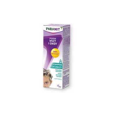 Paranit, szampon leczniczy likwidujący wszy i gnidy, 100 ml