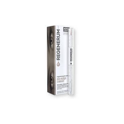 Regenerum, regeneracyjne serum do rzęs i brwi, 4 ml + 7 ml