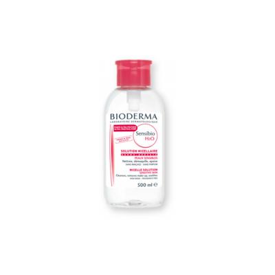 Zestaw Promocyjny Bioderma Sensibio H2O, płyn micelarny do oczyszczania twarzy i demakiajżu, 500 ml x 2 szt.