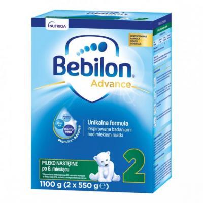 Bebilon 2 Pronutra-Advance, mleko następne po 6. miesiącu, proszek, 1100 g (2 x 550 g)