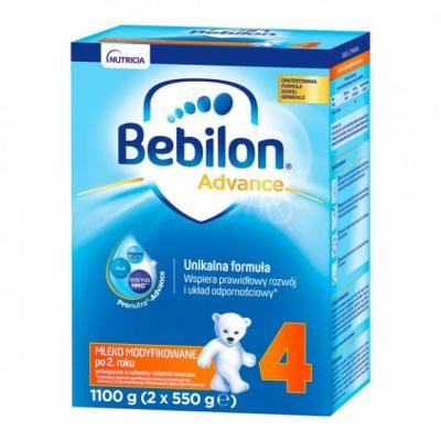Bebilon 4 Pronutra-Advance, mleko modyfikowane po 2. roku, proszek, 1100 g (2 x 550 g)