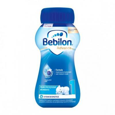 Bebilon 1 Pronutra-Advance, mleko początkowe od urodzenia, płyn, 200 ml, 1 szt.