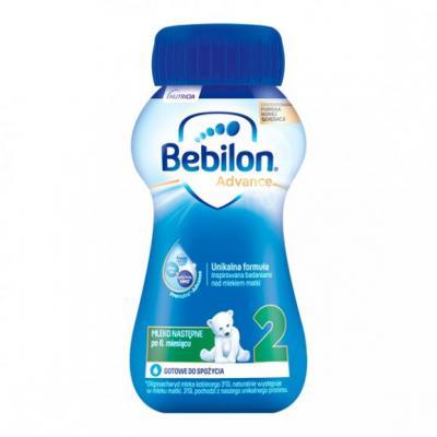 Bebilon 2 Pronutra-Advance, mleko następne po 6. miesiącu, płyn, 200 ml, 1 szt.