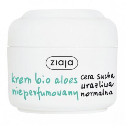 Ziaja Bio Aloes, krem aloesowy, nieperfumowany, 50 ml