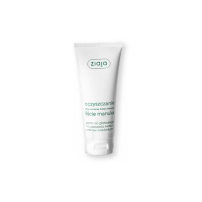 Ziaja Liście Manuka-Oczyszczanie, pasta do głębokiego oczyszczania twarzy, 75 ml