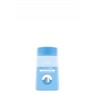 Ziaja De-Makijaż, dwufazowy płyn do demakijażu oczu, 120 ml.