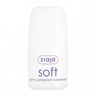 Ziaja Soft, antyperspirant w kremie, roll-on, 60 ml