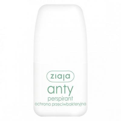 Ziaja, antyperspirant, ochrona przeciwbakteryjna, roll-on, 60 ml
