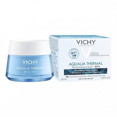 Vichy Aqualia Thermal Rich, krem nawilżający, bogaty, 50 ml