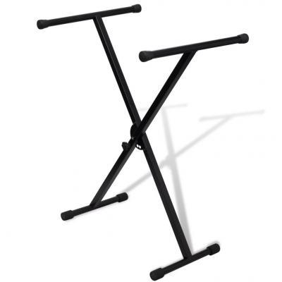 Emaga statyw pod keyboard, regulowana wysokość, kształt x