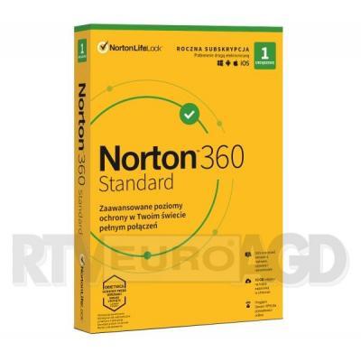 Norton 360 Standard 10GB (1 urządzenie / 1 rok)