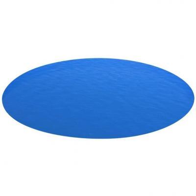 Emaga vidaxl plandeka na okrągły basen, 549 cm, pe, niebieska
