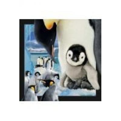 Magnes 3d pingwin