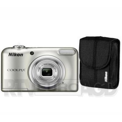 Nikon Coolpix A10 + etui (srebrny)