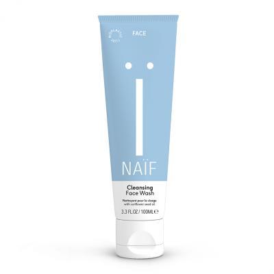 NAIF Oczyszczający żel do mycia twarzy