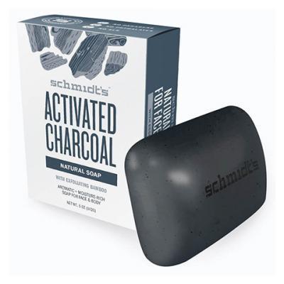 Schmidt's - Mydło w kostce Activated Charcoal