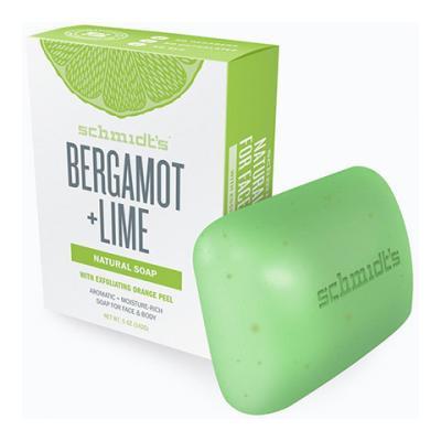 Schmidt's - Mydło w kostce Bergamot + Lime