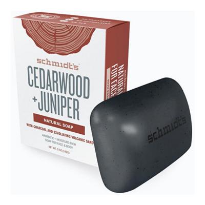 Schmidt's - Mydło w kostce Cedarwood + Juniper