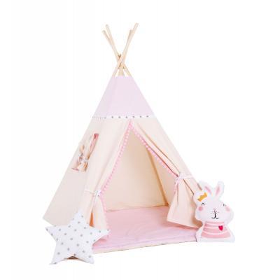 Namiot tipi dla dzieci, bawełna, okienko, królik, królewna