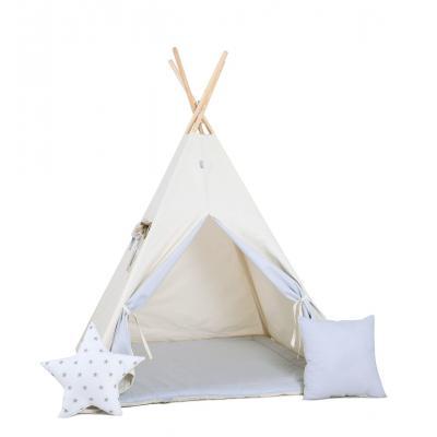 Namiot tipi dla dzieci, bawełna, okienko, poduszka, kłapouchy