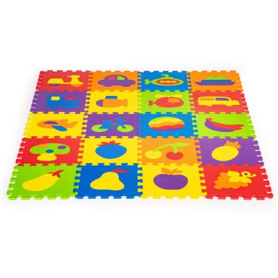 Mata piankowa z płotkiem, puzzle, 20 elementów