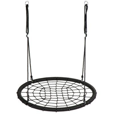 Huśtawka ogrodowa, bocianie gniazdo, pajęcza sieć, 100cm