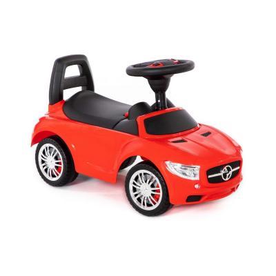 Jeździk, autko, SuperCar z panelem muzycznym, czerwone