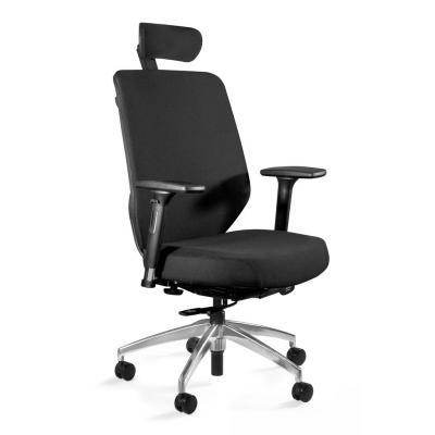 Fotel biurowy, ergonomiczny, Hero, czarny