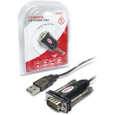 Unitek Adapter USB do 1xRS-232 ; Y-105
