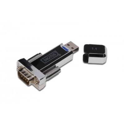 Digitus Konwerter/Adapter USB 1.1 do RS232 (DB9) z kablem Typ USB A M/Ż 80cm