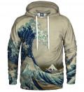 Great Wave Hoodie, by Katsushika Hokusai
