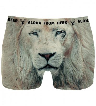 underwear with lion motive