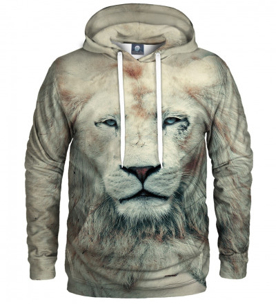 hoodie with lion motive