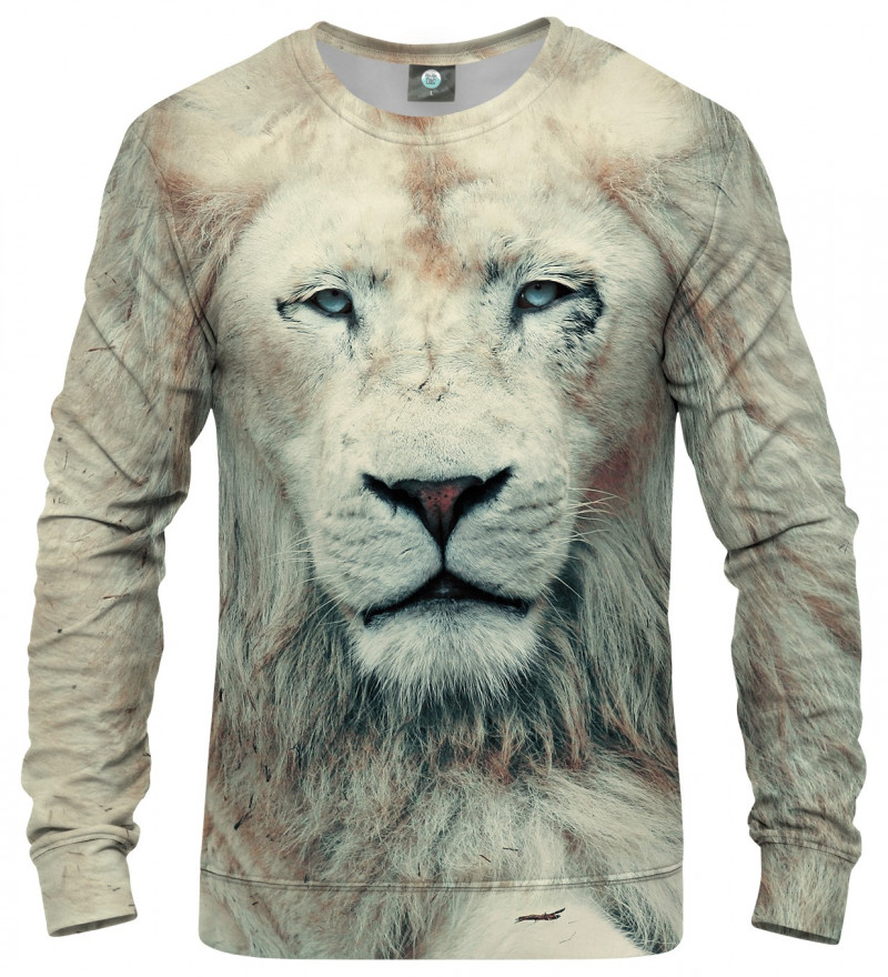 bluza z motywem lwa