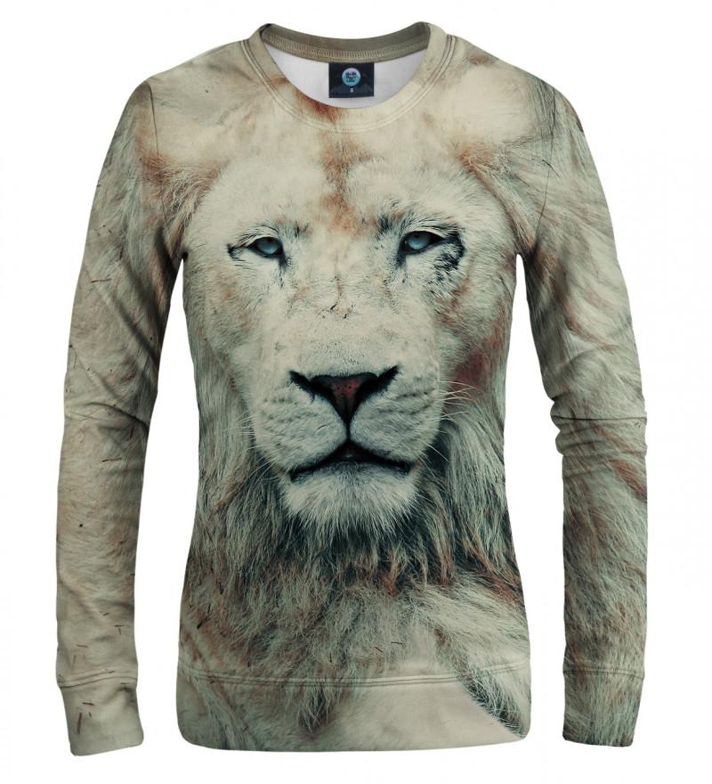 sweatshirt with lion motive